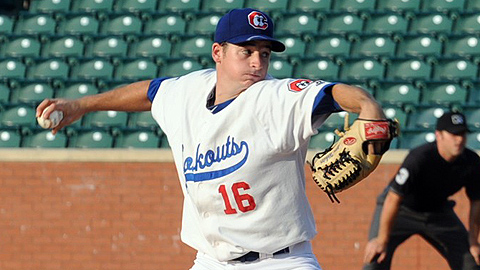 Allen Webster has given up seven hits in 18 innings with Chattanooga.