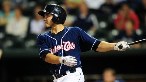 Travis d'Arnaud hit .311 with 21 homers, 78 RBIs and a .914 OPS last year.
