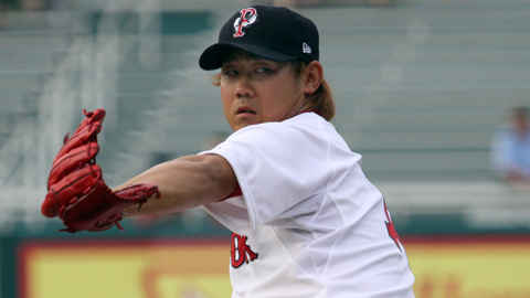 Daisuke Matsuzaka has made four rehab starts for Pawtucket this season.